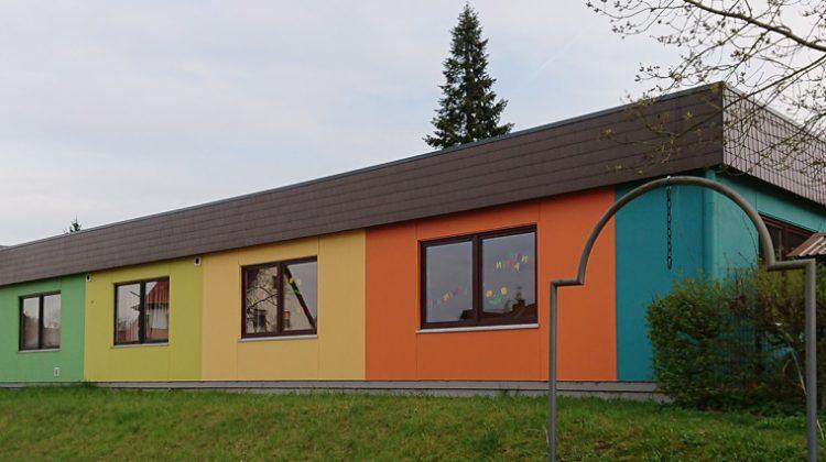 Außengestaltung einer KiTaa